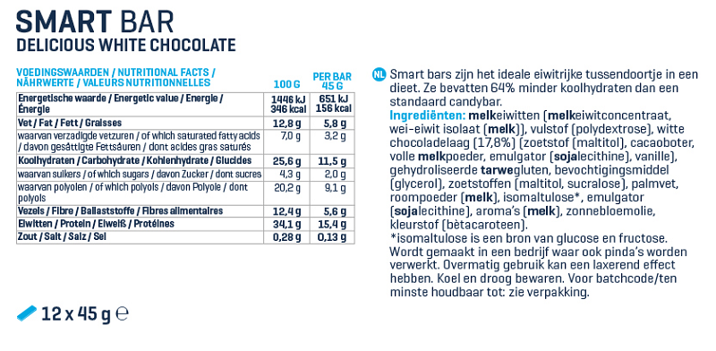 Label van Smart Bars